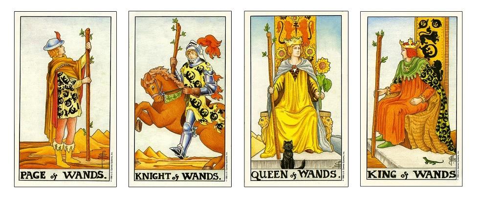 Tương Tác Giữa Các Lá Page, Knight, Queen và King 1