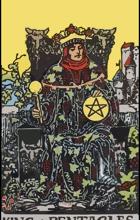 Ý Nghĩa Lá Bài King of Pentacles Trong Tarot 5