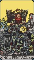 Ý Nghĩa Lá Bài King of Pentacles Trong Tarot 1