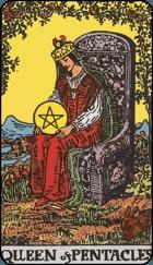 Ý Nghĩa Lá Bài Queen of Pentacles Trong Tarot 1
