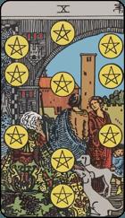 Ý Nghĩa Lá Bài 10 of Pentacles Trong Tarot 1