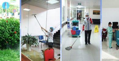 Top 2 Công ty vệ sinh công nghiệp giá rẻ và uy tín nhất Vĩnh Phúc