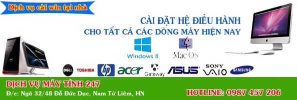 Top 2 Dịch vụ cài win tận nơi uy tín nhất tại Hà Nội