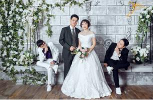 Top 2 Dịch vụ chụp ảnh cưới pre-wedding và ảnh gia đình phong cách Hàn Quốc tại Hà Nội