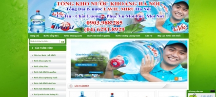 Top 7 Dịch vụ giao nước tinh khiết tại nhà uy tín nhất Hà Nội