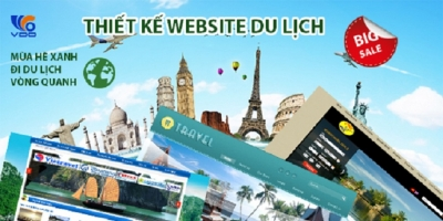 Top 7 Dịch vụ thiết kế web du lịch giá rẻ và chuyên nghiệp nhất hiện nay