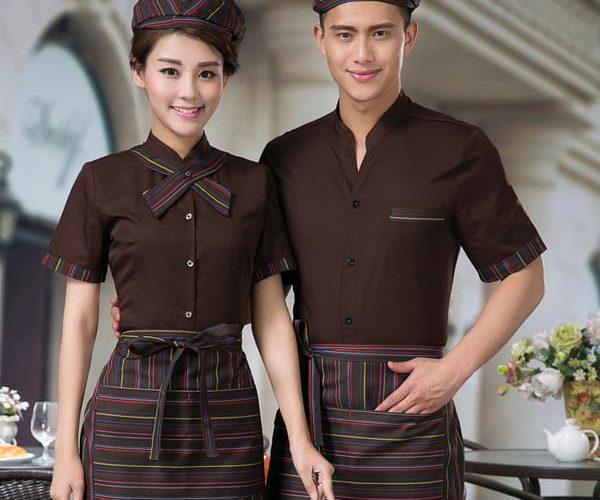 Top mẫu đồng phục nhà hàng - khách sạn đẹp, rẻ 11