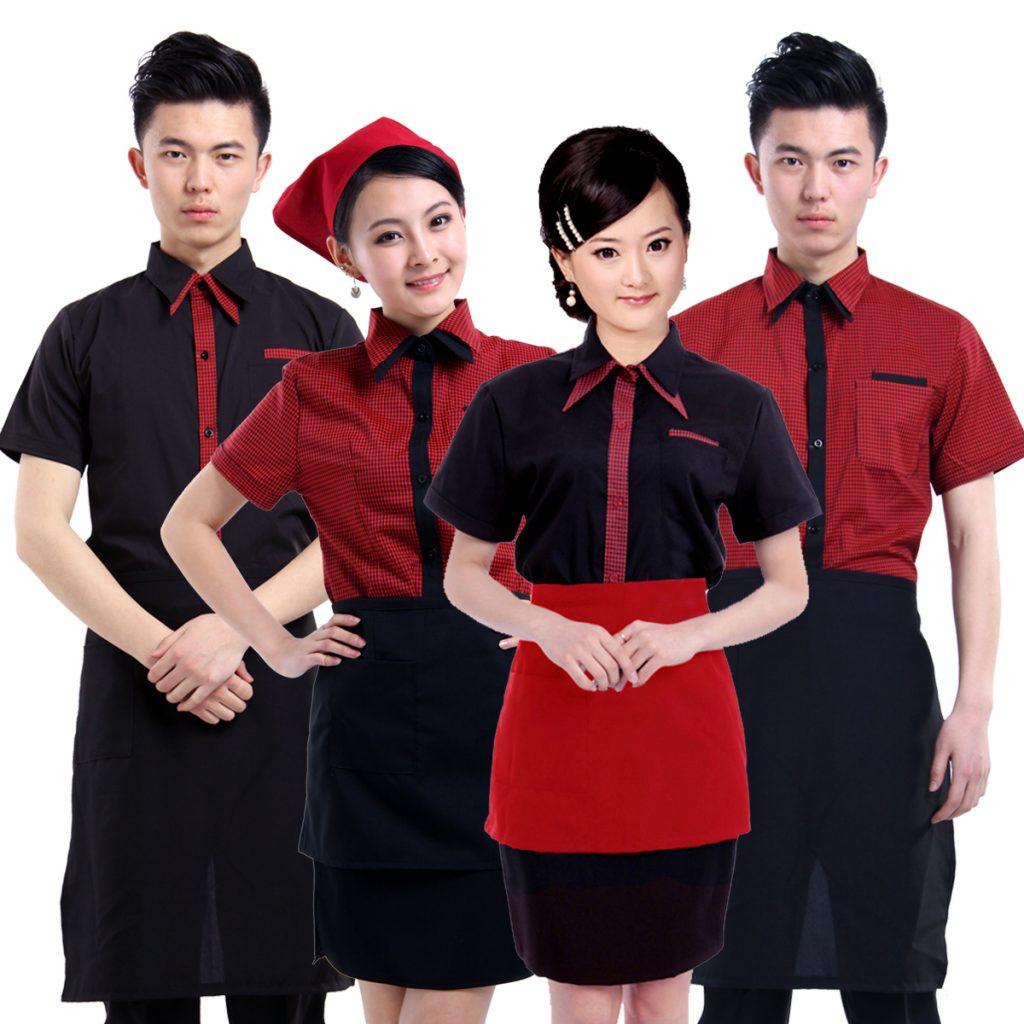 Top mẫu đồng phục nhà hàng - khách sạn đẹp, rẻ 1