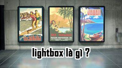 Tư vấn quảng cáo biển hộp đèn lightbox ấn tượng 2