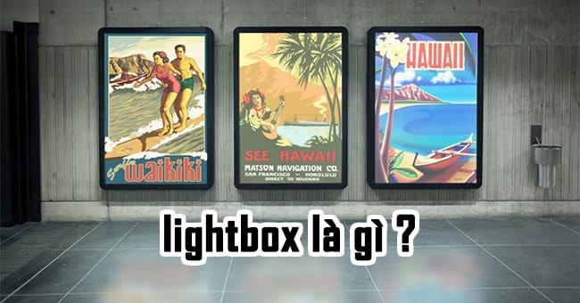 Tư vấn quảng cáo biển hộp đèn lightbox ấn tượng 3